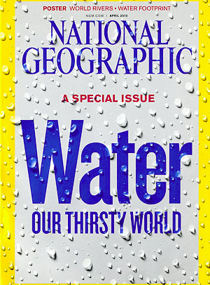 Portada National Geographic, Abril 2010