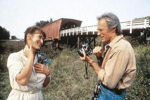 """Meryl Streep y Clint Eastwood en """"Los puentes de MAdison"""""""