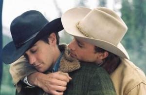"Jake Gyllenhaal y Heath Ledger en ""Brokeback Mountain"""