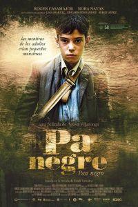 Cartel de la película triunfadora en los Goya 2011, 'Pa Negre'.