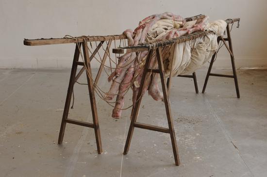 Berlinde De Bruyckere, Inside me II (2010)