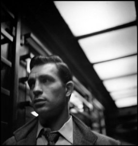 In recognition of Jack Kerouac's birthday, Magnum presents beatific Beats and other figures of the Beat movement in New York and abroad. NEW YORK CITY—American writer Jack Kerouac, 1953. © Elliott Erwitt / Magnum Photos