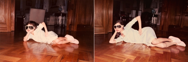 MECHI IN 1990 & 2010, Buenos Aires © Irina Werning