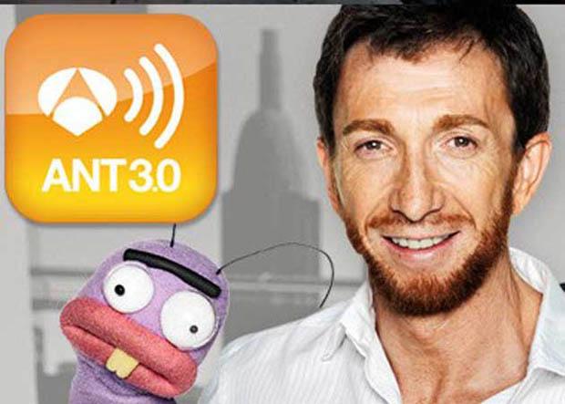 Pablo Motos de El Hormiguero, con la app Ant3.0