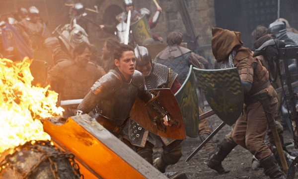 Kristen Stewart en 'Blancanieves y la leyenda del cazador'